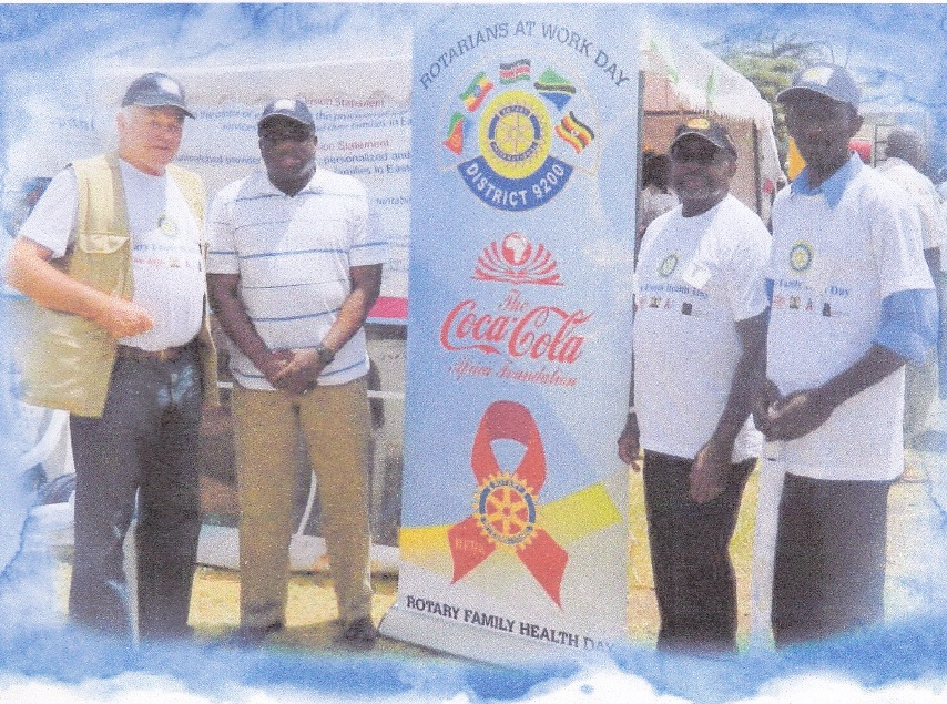 RFFA Chair PDPDG Mark Doyle RFFA Chair and William Asiko Coca Cola Africa Foundation President